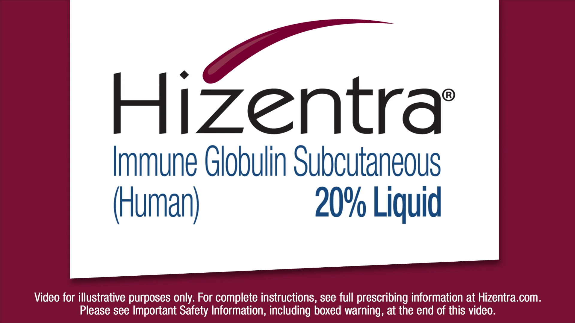 Dosing and Administration | HIZENTRA Immune Globulin